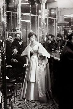 Paris - Café 1959 Frank Horvat