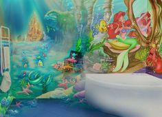 Trendy Bathroom Mural Wallpaper · Little Mermaid ... Part 80