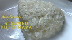 Steamed Puto Maya - YouTube Filipino, Maya, The Creator, Snacks, Youtube, Food, Appetizers, Essen, Meals