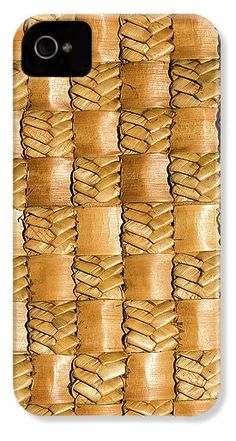 Flax IPhone 5 / Case featuring the photograph Weaving Flax - Gold by Wairua o te Moana Iphone 6s Gold Case, 5s Cases, Iphone Phone Cases, Iphone 4, Galaxy S4 Case, Moana, Weaving, Photograph, Rock Art