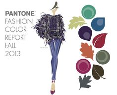 stylecurated: Color Story: Fall 2013 I love Pantone's selection for Fall Fashion 2013.   I can see great jewelry designs using these colors!