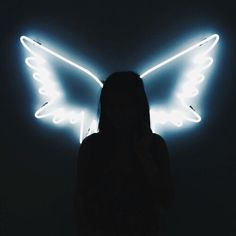 Imagem de angel, wings, and light