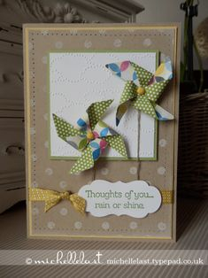 Pinwheel Sizzlit Die from Stampin' Up! by Michelle Last
