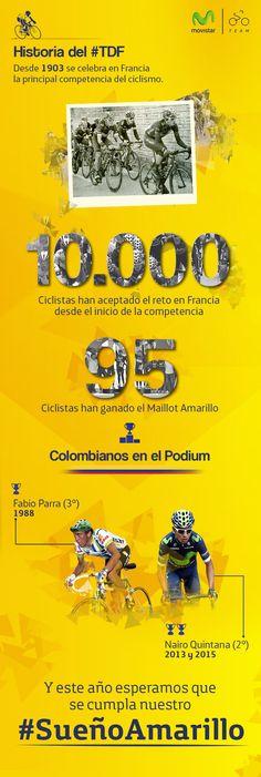 48 millones de corazones esperando que el #SueñoAmarillo sea este año para Colombia. #TDF2016