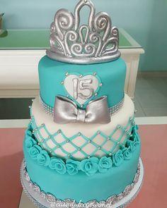 #cake #fondant #princess #15birthday