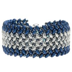 Tutorial - How to: Quilted Sky Bracelet   Beadaholique