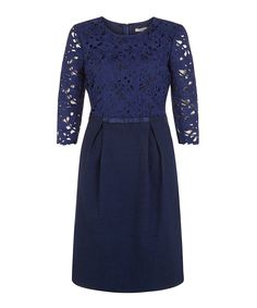 Look at this #zulilyfind! Navy Fleur Dress by Darling #zulilyfinds
