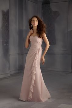 Bridesmaids by Mori Lee - 703. Visit us for additional information on this style including available colors swatches.