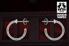 silver earrings, sahatut korvakorut, www. Silver Earrings, Silver Jewelry, Jewelry Design, Ear, Ear Piercings, Silver Jewellery