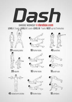 Dash - Darebee Workout