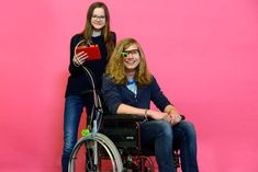 Using a Raspberry Pi and printing, a pair of German teenagers have developed a low-cost, eye-controlled wheelchair. And it's open source. Medical Technology, Assistive Technology, Disabled People, Mary Sue, Stephen Hawking, People Like, Arduino, Lady, Ms