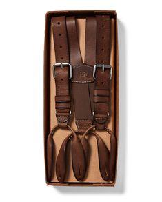 Canvas Leather Suspenders 2.0cm width Retro Wedding Suspender Mens Suspenders Party Suspenders Dress Suspenders Gentleman