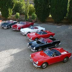 Red, White, Black or Grey? | Nostalgic Classic Car Travel