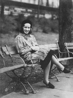 Edie Beale, dressed to kill in Central Park. | Autumn, 1937.