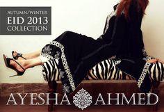 Ayesha Ahmed Autumn Dresses 2013 For Women