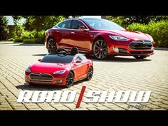 Roadshow: Scaling down with the Tesla Model S for Kids