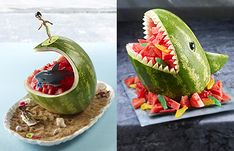 Watermelon Carvings by National Watermelon Promotion Board