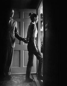 Mel Ferrer and Audrey Hepburn