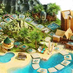 ディズニーによるハイクオリティなすごろくのゲームボード「Disney Vacation Club Getaway Your Way Sweepstakes」…