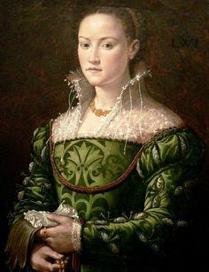 Ritratto di donna. 1560. Olio su tavola. 73x57. San Diego Museum of Art