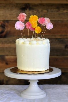 flower cake toppers are my fave - You Are My Fave