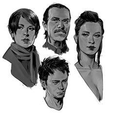 ArtStation - Random doodles..., John Grello