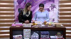 Mulher.com 17/06/2015 Ana Santiiago - Cartonagem em prática com tecido a...