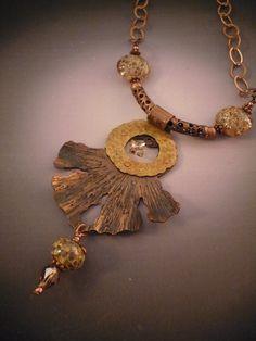 Dancing Golden Angel Pendant by Allison l Norfleet Bruenger Collections