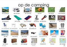 plaat op de camping