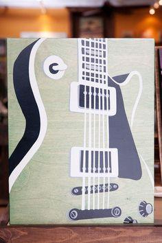 Sweet guitar art