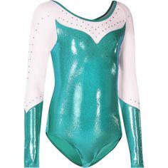 FITNESS Gymnastique Danse, Yoga, Gymnastique - Justaucorps Strass Gym Bleu…