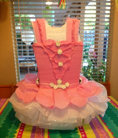 Ballerina piñata or centerpiece
