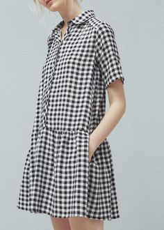 Flowy print dress | MANGO
