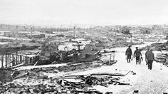 Berlevåg, Northern Norway Christmas 1944. Northern Norway 1945. Retreating German forces burnt down more than 12000 houses and other valuable infrastructure in Finnmark and Northern Troms in late 1944 and early 1945. More than 50000 inhabitants were forced from their homes and livestock were slaughtered. The people and their livestock suffered tremendously during the brutal executed scorched earth operations when ill-diciplied and often drunken German soldiers torched houses, looted, raped…