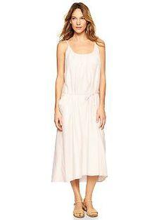 Low-back stripe maxi dress - cute - but not a super super fav.