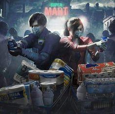 прикольный мемы про игры– Google Поиск Carlos Resident Evil, Resident Evil Anime, Video Games Funny, Funny Games, Stupid Funny Memes, Hilarious, Evil Meme, Leon S Kennedy, The Evil Within