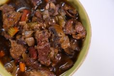 Michael Symon's beef stout stew.  Made it for St. Patrick's Day and loved it.  Great flavor from a simple recipe.  A keeper.