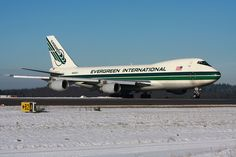 Evergreen B747-200F -a staple for many years
