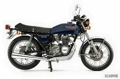 When you talk about old Honda road bikes, it doesn't tale long for the conversation to reach a story of a 400 four, enter our 1977 Honda Supersport. Honda Cb400, Supersport, Road Bikes, Vintage Japanese, Cars And Motorcycles, Motorbikes, Cb400f, Yamaha, Classic