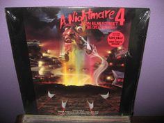 Rare Vinyl Record A Nightmare on Elm Street 4  by JustCoolRecords, $54.00
