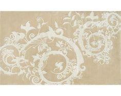 Cosa Bella Beige, Cream Wool/ Art.Silk Tufted Rug