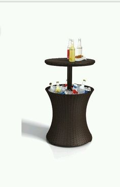 Cool Bar summer drinks cooler barbeque outside chilled ice cocktail table coffee