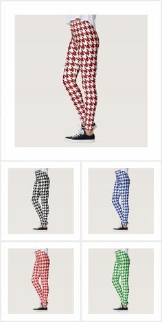 Leg Warmers, Houndstooth, Collections, Leggings, Pattern, How To Wear, Color, Products, Fashion