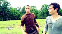 the maze runner cast | come with me now [gag reel], but seriously, how did they get any filming done even???