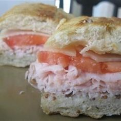 ... Sandwich recipes on Pinterest | Paninis, Sandwiches and Sandwich