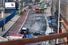 Jan 16 Helicopter crash in central London