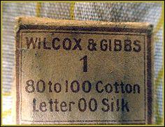 Antique Crowley's Wilcox & Gibbs Sewing Machine Needles