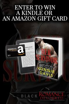 Win a Kindle Paperwhite or a $25 Amazon Gift Card from Author Vonnie Davis. Ends 9/14. #Sweepstakes