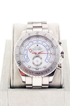 Rolex 18K White Gold Yachtmaster II 116689