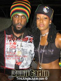 Trini King Bunji Garlin and Soca Monach Queen Fayann Lyons,Soca power couple